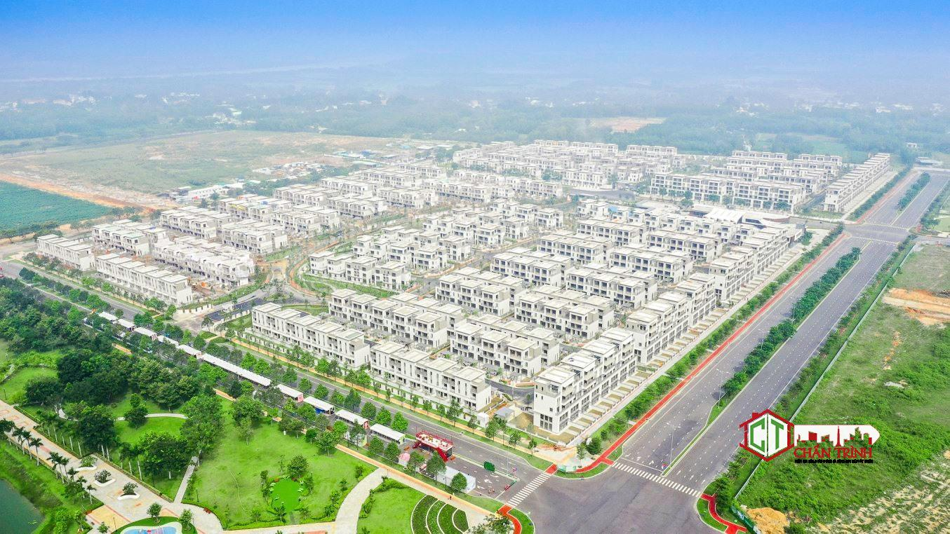 Toàn cảnh dự án Swan Park nhìn từ trên cao.