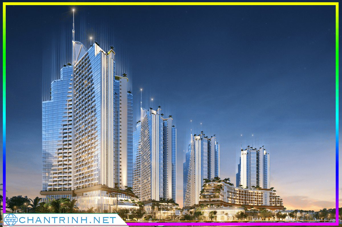 Thiết kế ấn tượng của căn hộ Sailing Bay Ninh Thuận