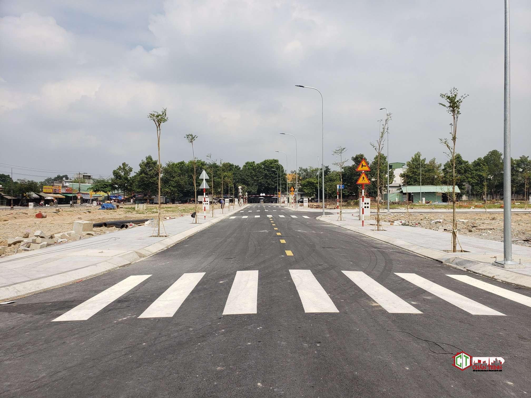 Trục đường trung tâm dự án Icon Central
